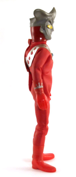 Ultraman Leo Side View